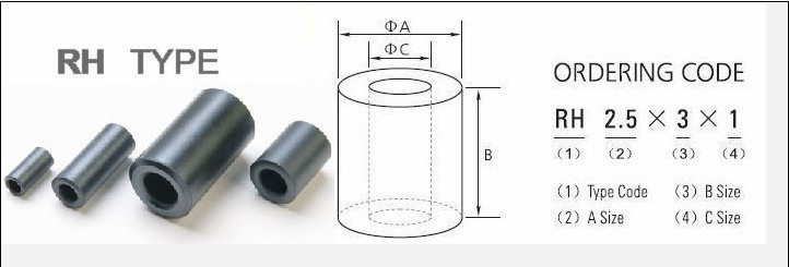 【厂家供应】铁氧体抗干扰磁环